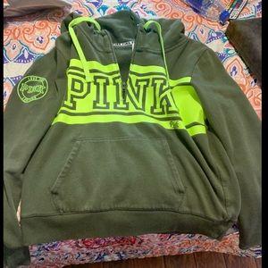 Victoria Secrets PINK Half Zip Sweatshirt